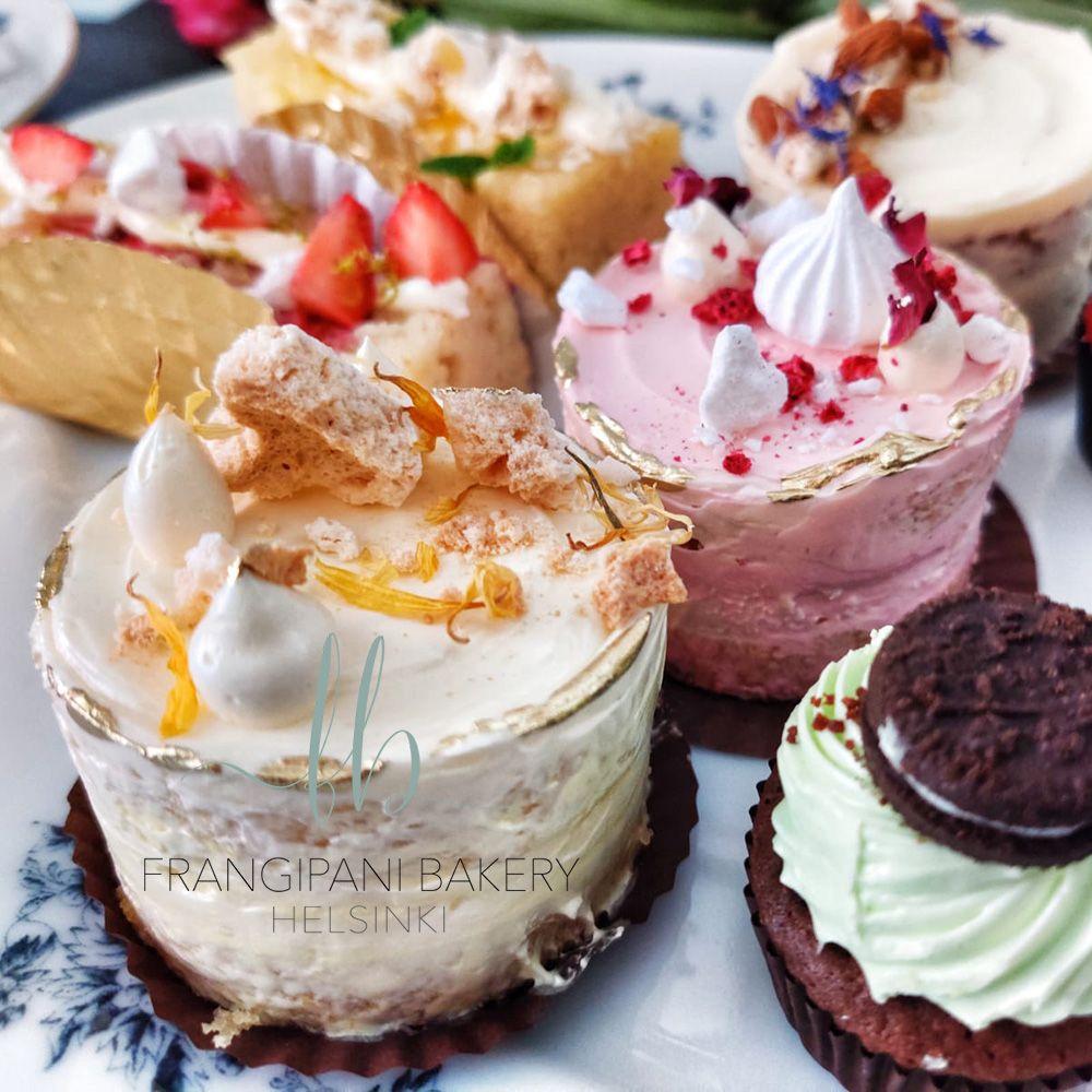 Frangipani Bakery - Kakkutasting - Häämessut netissä